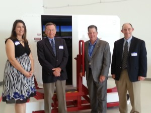 Alpha Flight Simulation Ribbon Cutting
